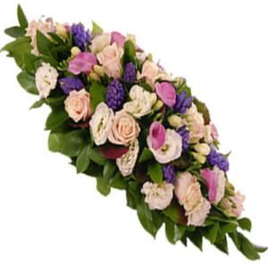 copribara fiori misti 150 cm